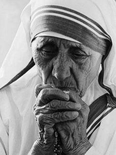 Mother Teresa in Washington,1986