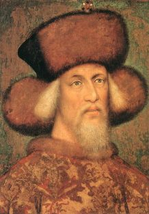 Portrait_of_Emperor_Sigismund_of_Luxembourg by Pisanello, 1433