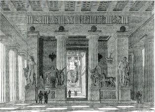 Zeus temple in Olympia