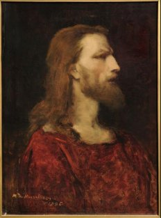 Bust of Christ by Mihaly Munkacsy