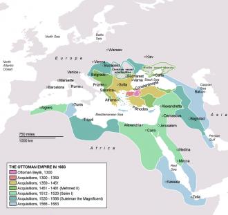 Ottoman Empire in 1683