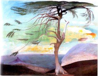 Lonely Cedar by Csontváry Kosztka Tivadar