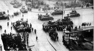 soviet invasion of hungary 1956