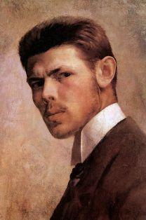 Selfportrait by János Vaszary