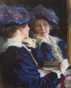 Mrs Philip de László/ Fólöpné/ Lucy Madeleine Guinness