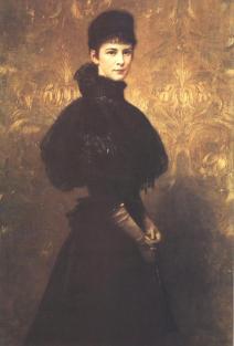 Elizabeth von Wittelsbach by Gyula Benczur