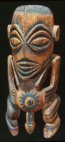 polynesian Tiki Statue