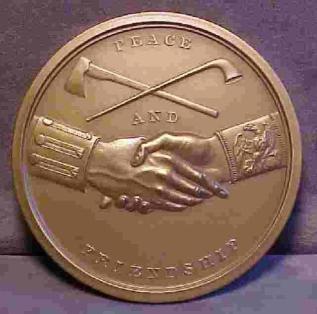 Medal of Peace Thomas Jefferson, 1801