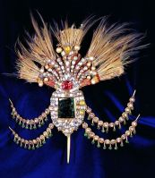 gold ottoman aigrette