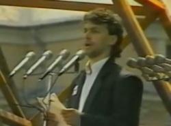 Viktor Orbán in 1989