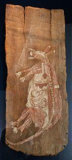australian tree bark painting