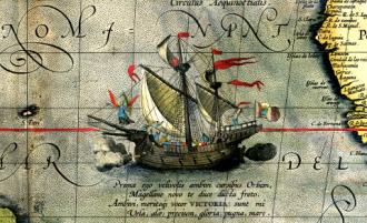 Magellan's ship Victoria