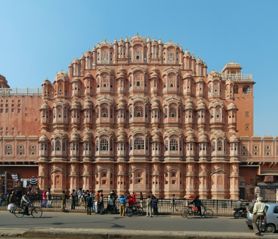Hawa Mahal - Palace of the Winds (Jaipur)