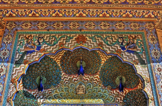 Peacock Gate, City Palace, Jaipur, Rajasthan, India | Flickr flickr.com
