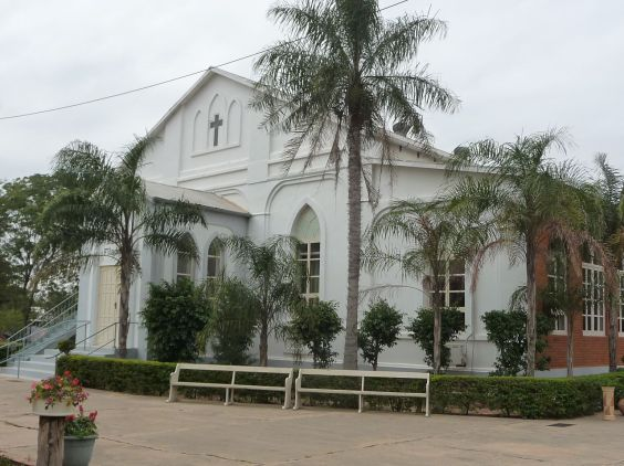 Mennonite Church in Paraguay
