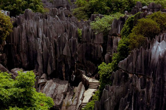 stone Forest in Kunming (China)
