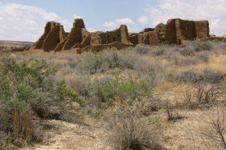 Approaching Casa Bonita, Chaco Canyon