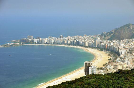 Cpacabana beach, Rio de Janeiro