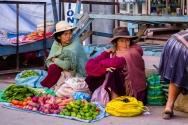 Indian Market in La Paz
