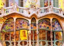 Batllo-Housw (Barcelona) by Antoni Gaudi