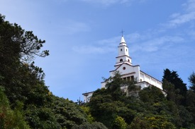 Sanctuary of Monserrate in Bogotá