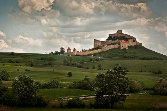 knight's castle around Brasov
