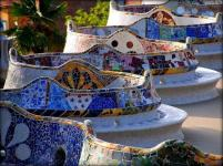 Güell- Park by Antoni Gaudi (Barcelona)