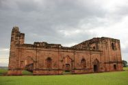 ruins of Jesus de Tavaranguein Paraguay