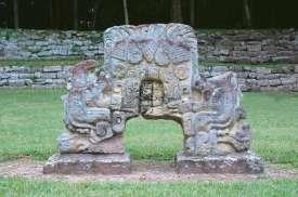 Mayan altar in Copan