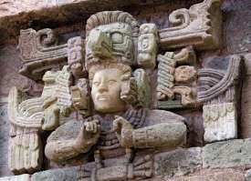 ?aya Sculpture in Copan