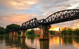 River Kwai Bridge, Thailand