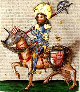 Representation of St. Ladislaus in the Thuróczi Chronicle