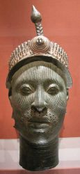 yoruba (Ife head, memory of the ancient royal cult of Ooni-Ile-Ife)