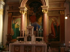 Holy Trinity Altar (Battonya) by Pal Molnar C.