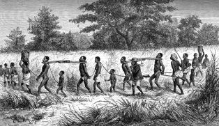 Transportation of slaves