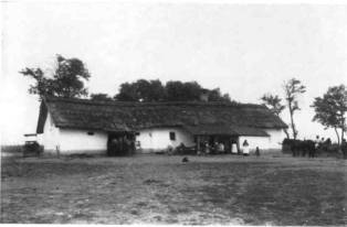 Small peasant farm in the 19th century