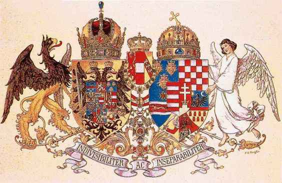Coat of arms of the Austro-Hungarian Monarchy