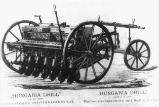 """HUNGARIA DRILL"" drill with immersion wheels"