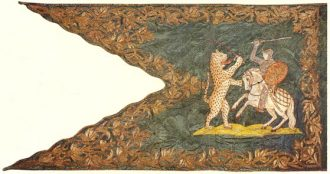 The flag donated by the Bocskai to the Hajduks