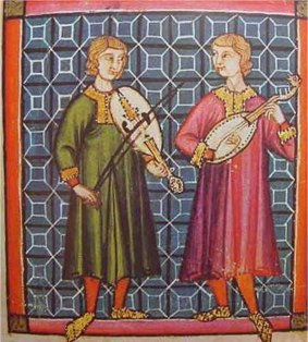musicians in the 13th century