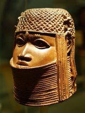 Benin bronze in Bristol