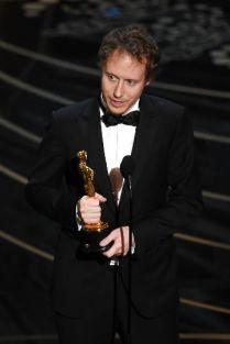 László Nemes Jeles at the Oscar gala