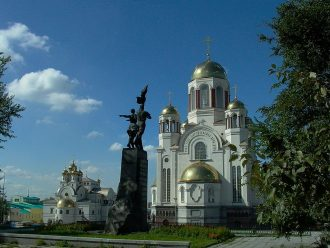 The Church of the Atonement in Yekaterinburg