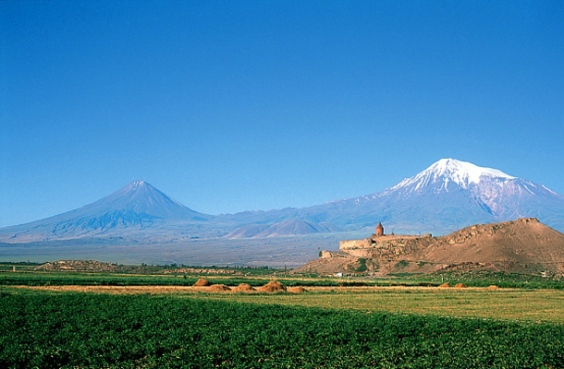The peaks of Ararat
