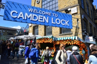 Camden Lock Market in London