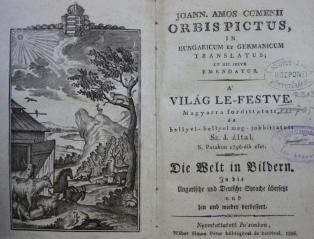 Comenius: Orbis pictus