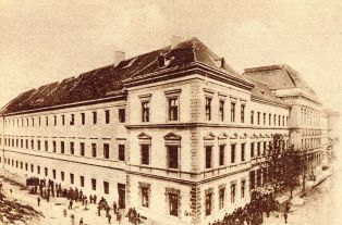 Nagyenyed College in old picture