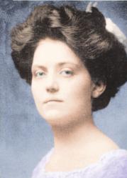 Violet Jessop in color