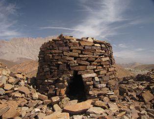 Burial mound at Al-Ayn site.