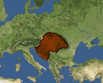 The Kingdom of Hungary at the end of the 12th century